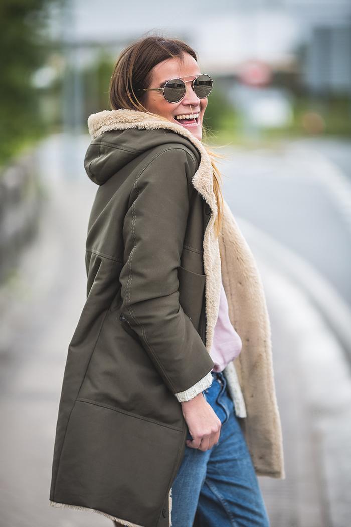 Boyfriend, es cuestión de estilo , estilo , Personal shopper , Lucía Díez , Parka verde militar , Parka verde .