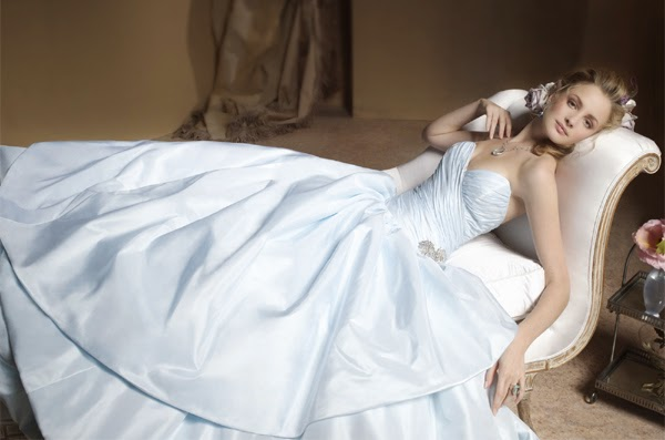 Want to Wear a Blue Wedding Dress at Your Wedding