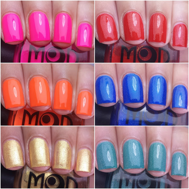 Mod Lacquer Swatches & Review