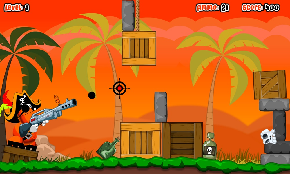 Alien Bottle Buccaneer Play Free Online Fun Game