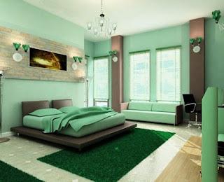 design bedroom narrow minimalist simple