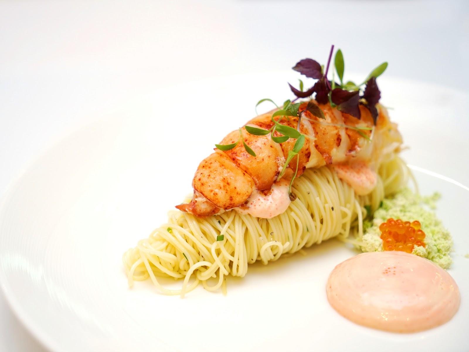 pinkypiggu best angel hair pasta in singapore served chilled or