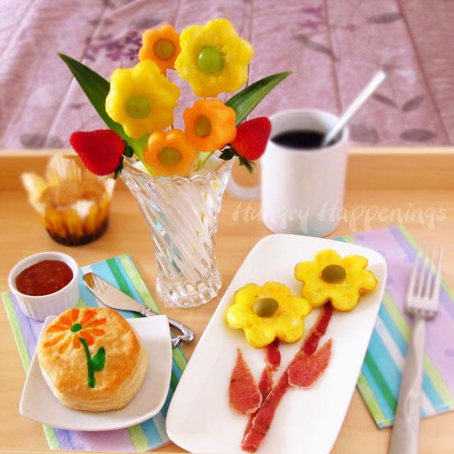 cute food for kids food art 30 edible flower ideas. Black Bedroom Furniture Sets. Home Design Ideas