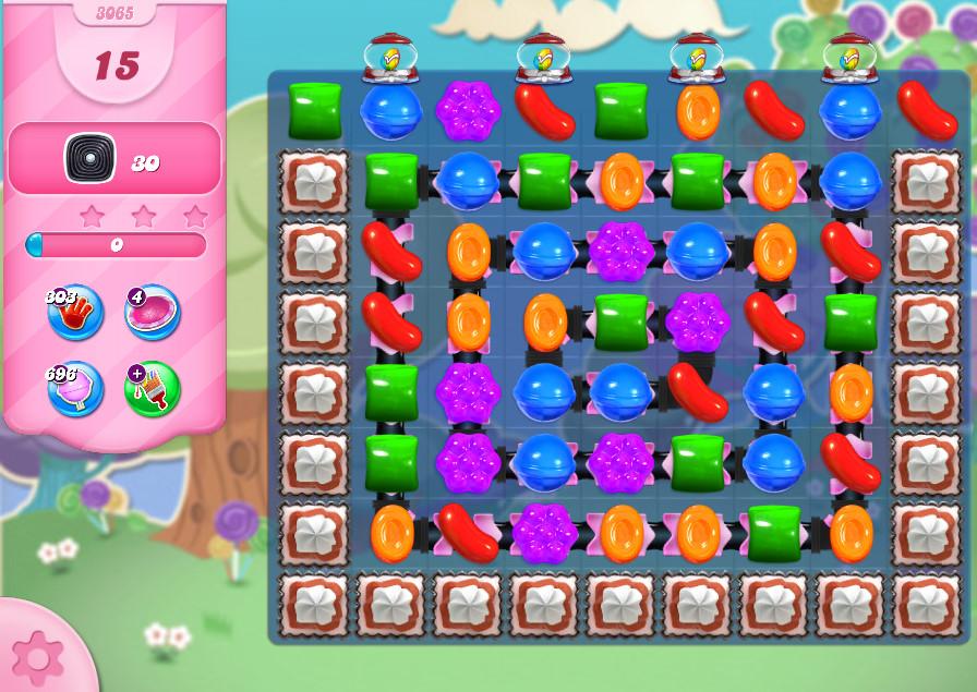 Candy Crush Saga level 3065