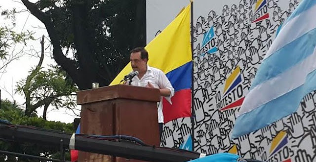 discurso del alcalde de Guayaquil en las marchas del 25 de junio