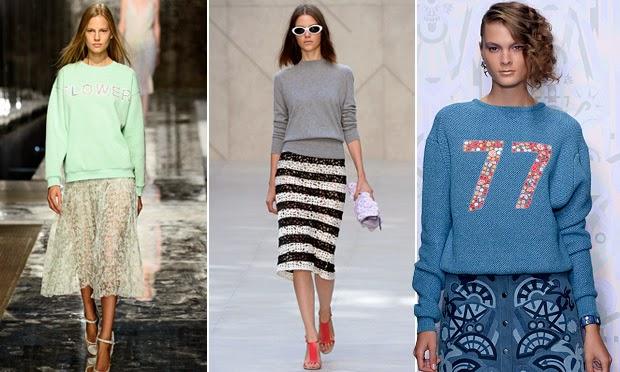 Resultado de imagem para moletons nas semanas de moda