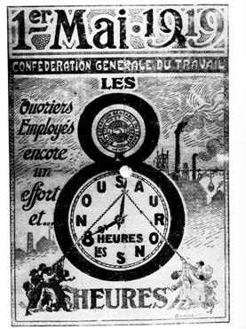 1919 affiche 1er mai