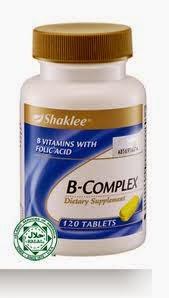 Kandungan B Complex Shaklee