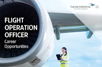 Lowongan Flight Operation Officer PT Garuda Indonesia