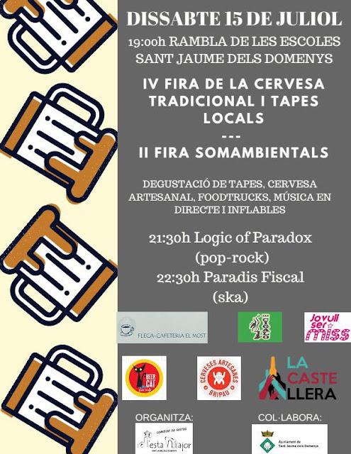 Esguard de Dona - IV Fira de la Cervesa Tradicional i Tapes Locals - Sant Jaume dels Domenys 2017