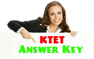 KTET Answer Key November 2019