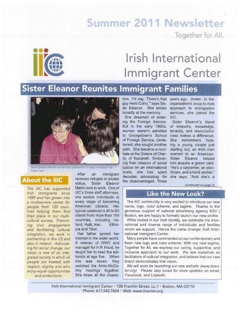Sister Eleanor Reunites Immigrant Families