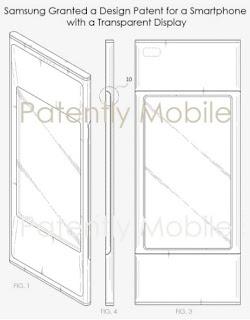 Benarkah Samsung bekerja pada desain ponsel yang lebih menarik daripada iPhone ?