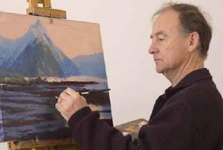 Artist ron gribble school paints