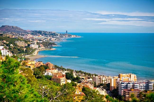 La Costa del Sol en la provincia de Málaga