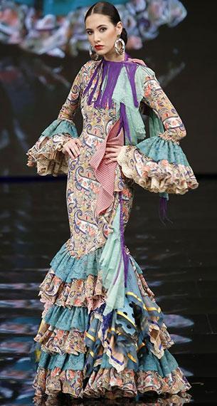 traje flamenca colección 2017 Aurora Gaviño