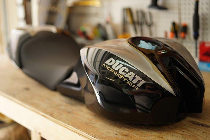 Bullitt 821 custom Ducati Monster 821