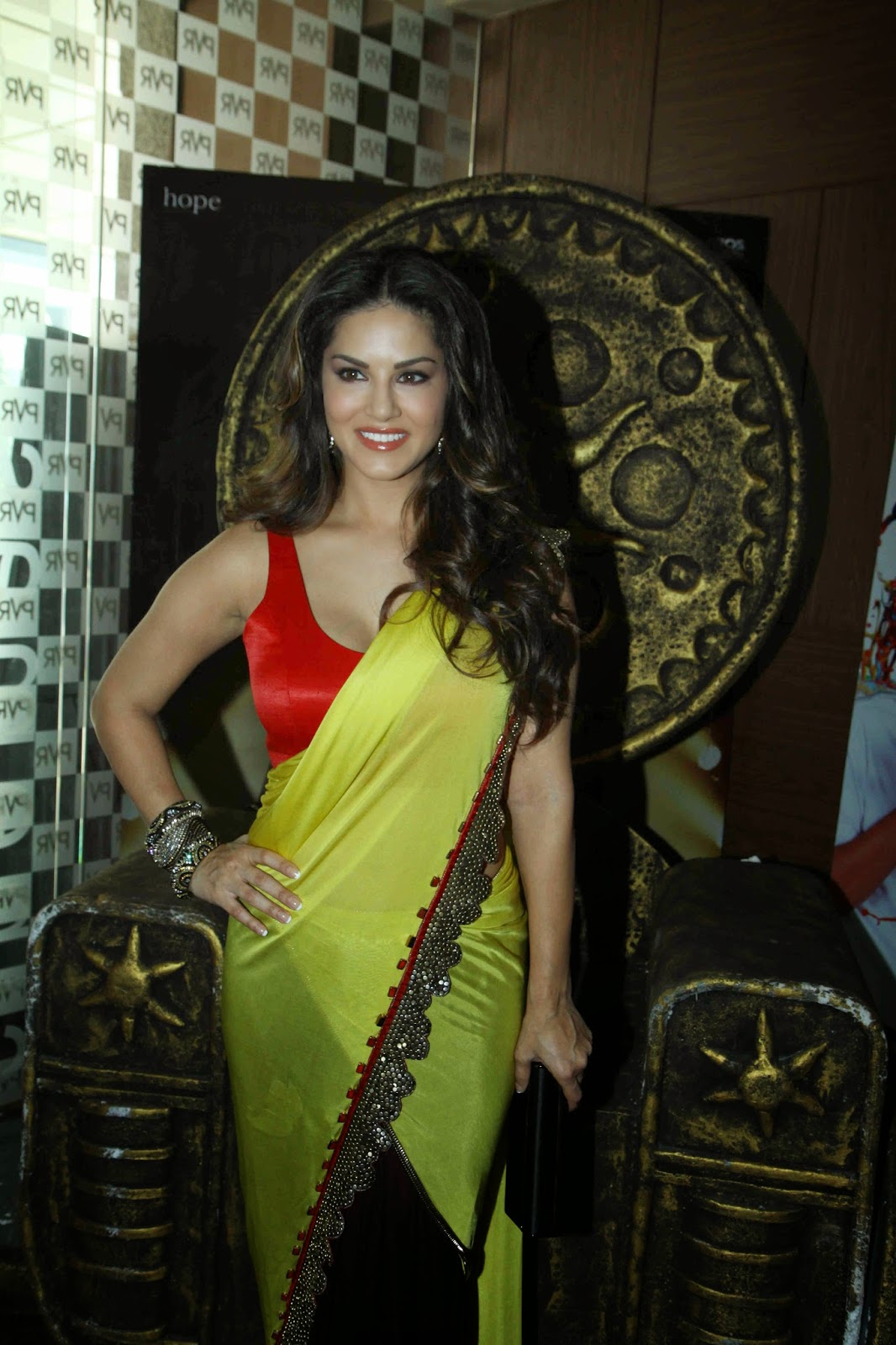 Sunny Leone at Trailer launch of 'Ek Paheli Leela'
