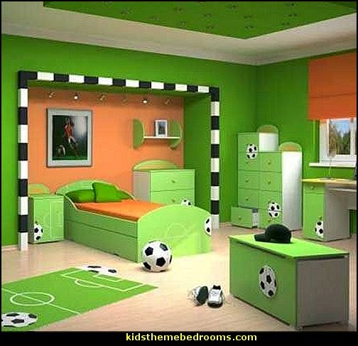 Girls Sports Themed Bedroom Decorating Ideas   Sports Bedding   Sports  Bedrooms   Girls Rooms Sports