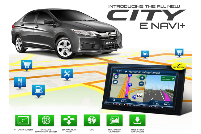 Honda City E Navi+ variants