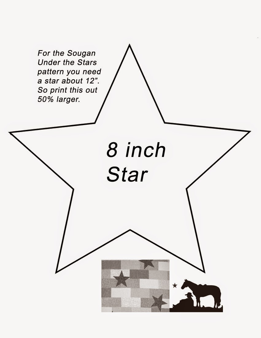 The Star For 7 Strips Should Be About 12 To Cover Two We Give You A Variety Of Stars In Book Can Print Pattern Above On An
