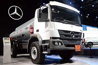 Mercedes-Benz faz primeira venda de caminhões brasileiros para as Filipinas