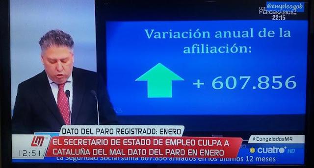 Según el PP la subida del paro es culpa de Cataluña