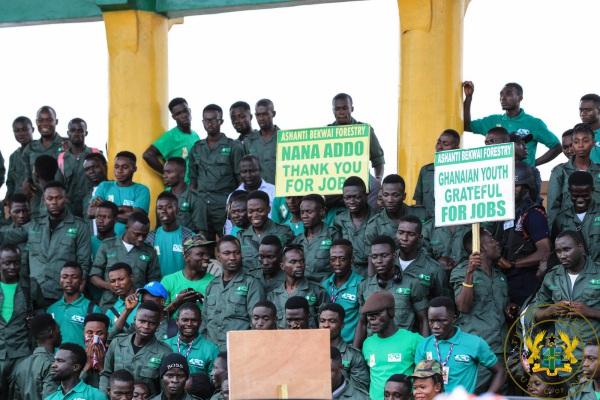 """Gov't Employs 20,000 In Afforestation Programme"" – President Akufo-Addo"