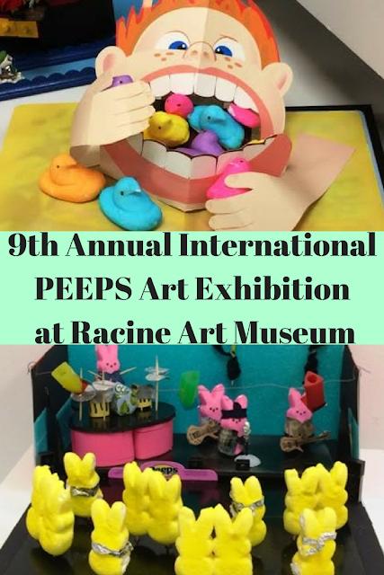 9th Annual International PEEPS Art Exhibition at the Racine Art Museum