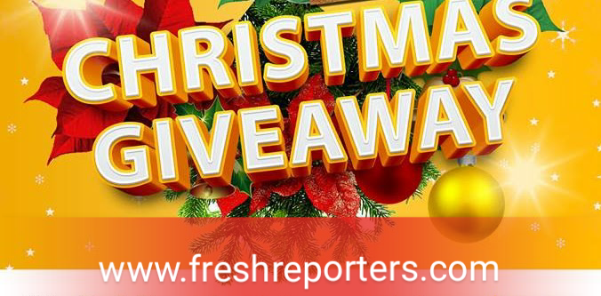 Christmas Free Airtime From Freshreporters - Get Yours Now | FRESH