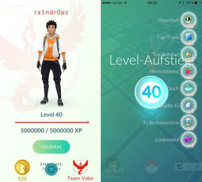 Wow! This is the Pokemon GO Account Level Max Reach Level 40