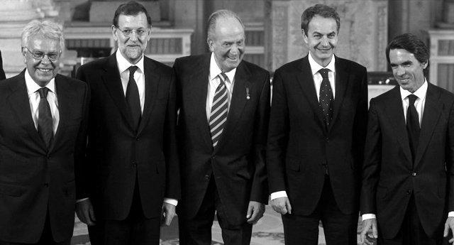 España paga una pensión vitalicia de 75.000 euros a cada expresidente