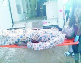Frustrated Igbo Man Shouts Buhari! Buhari!! Buhari!!! Jumps Into Lagos Rivers To Commit Suicide; See Photo