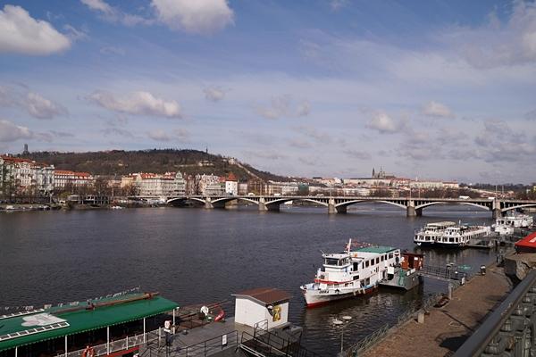 Moldau in Prag, Tschechien | Tasteboykott