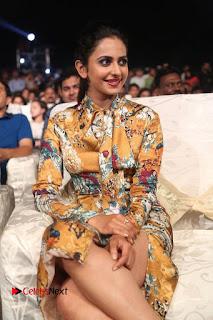 Actress Rakul Preet Singh Stills in Short Dress at Dhruva Pre Release Function  0064.JPG