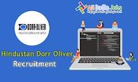 Hindustan Dorr Oliver Recruitment