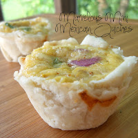 Mexican Mini Quiches