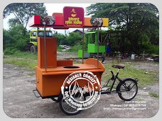 produksi gerobak sepeda bakmi mak nyak