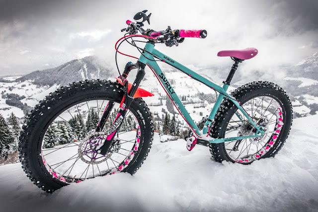 Anbauteile Mountainbike Pink