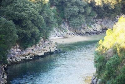 ensenada del río Purón