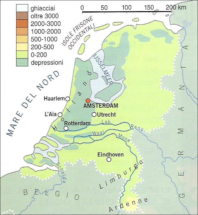 Cartina Olanda Fisica.Chi Viaggia Impara Immagini Dal Mondo Paesi Bassi F