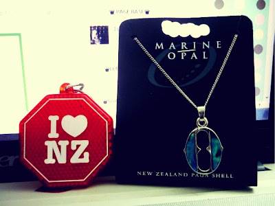 souvenir dari new zealand~