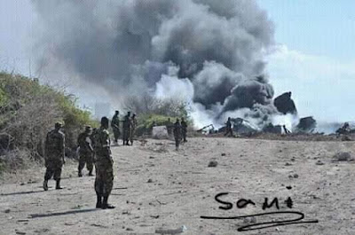 Accidente aereo en Etiopia,  no hay sobrevivientes