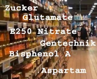 Krebs durch Zusatzstoffe