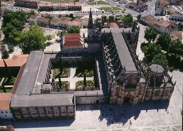 Vista do Mosteiro da Batalha