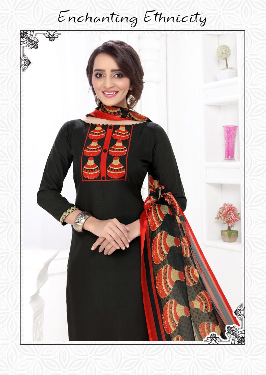 megha vol. 27 New Arrival Dress material Collection