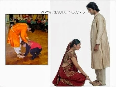 Why do we prostrate before parents & elders?
