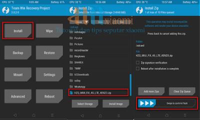 install Fix 4g pada reno 3 pro