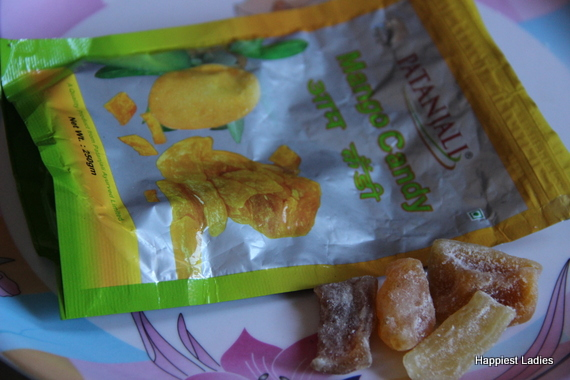 patanjali mango candy review