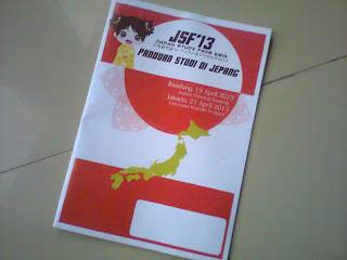 Japan Study Fair ITB 2013